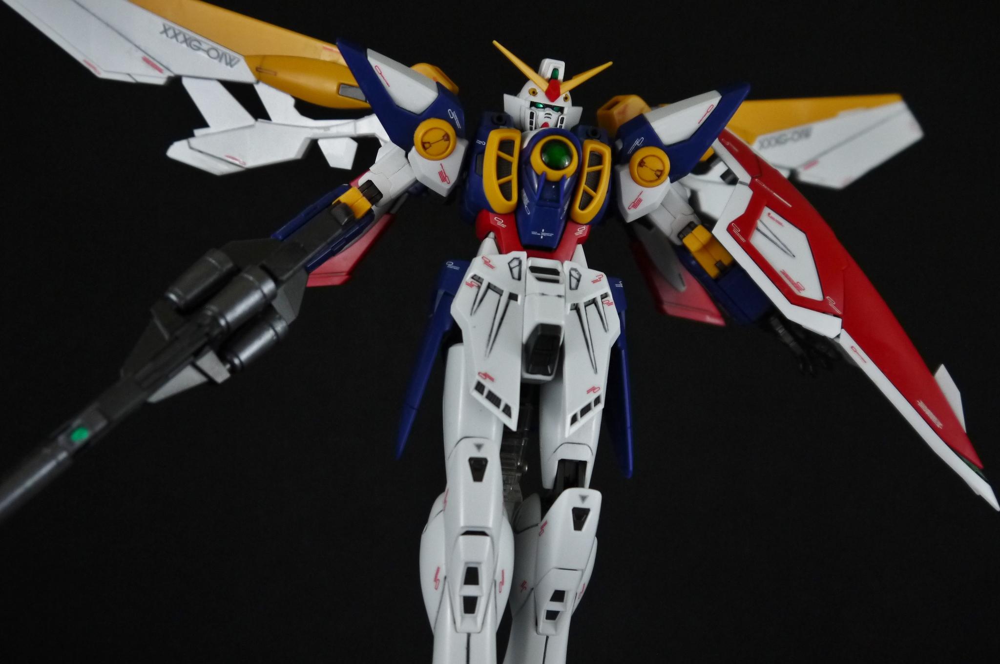 Gundam wing gundam epyon keychain ge animation